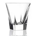 RCR Fusion Crystal Double Old Fashioned set of 6