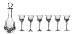 RCR AdagioCrystal 7pc. Liquor set