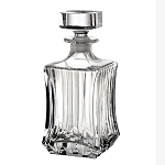 RCR Adagio Crystal Square Decanter
