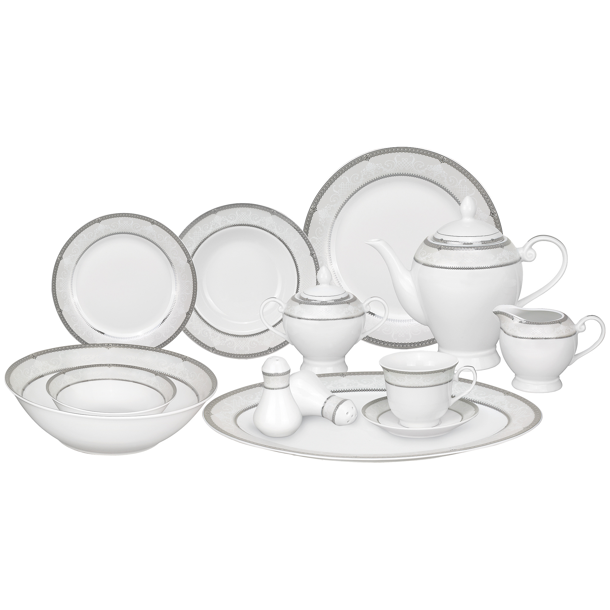 57 Piece Dinnerware