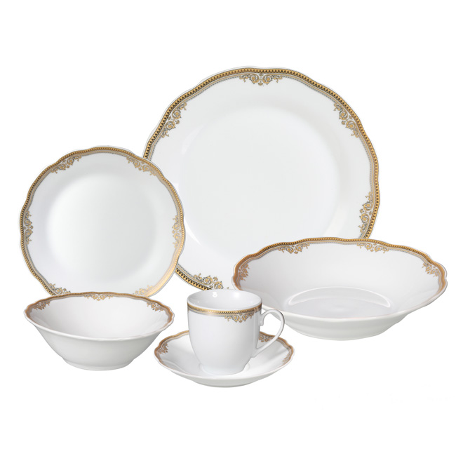 24 Piece Dinnerware  sc 1 st  Lorenzo Import & Dinnerware