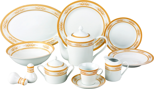 49 Piece Dinnerware