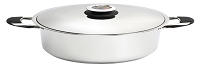 Stainless Steel dutch oven 7 QT. By Valenti