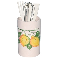 Lemon Design Utensil Holder
