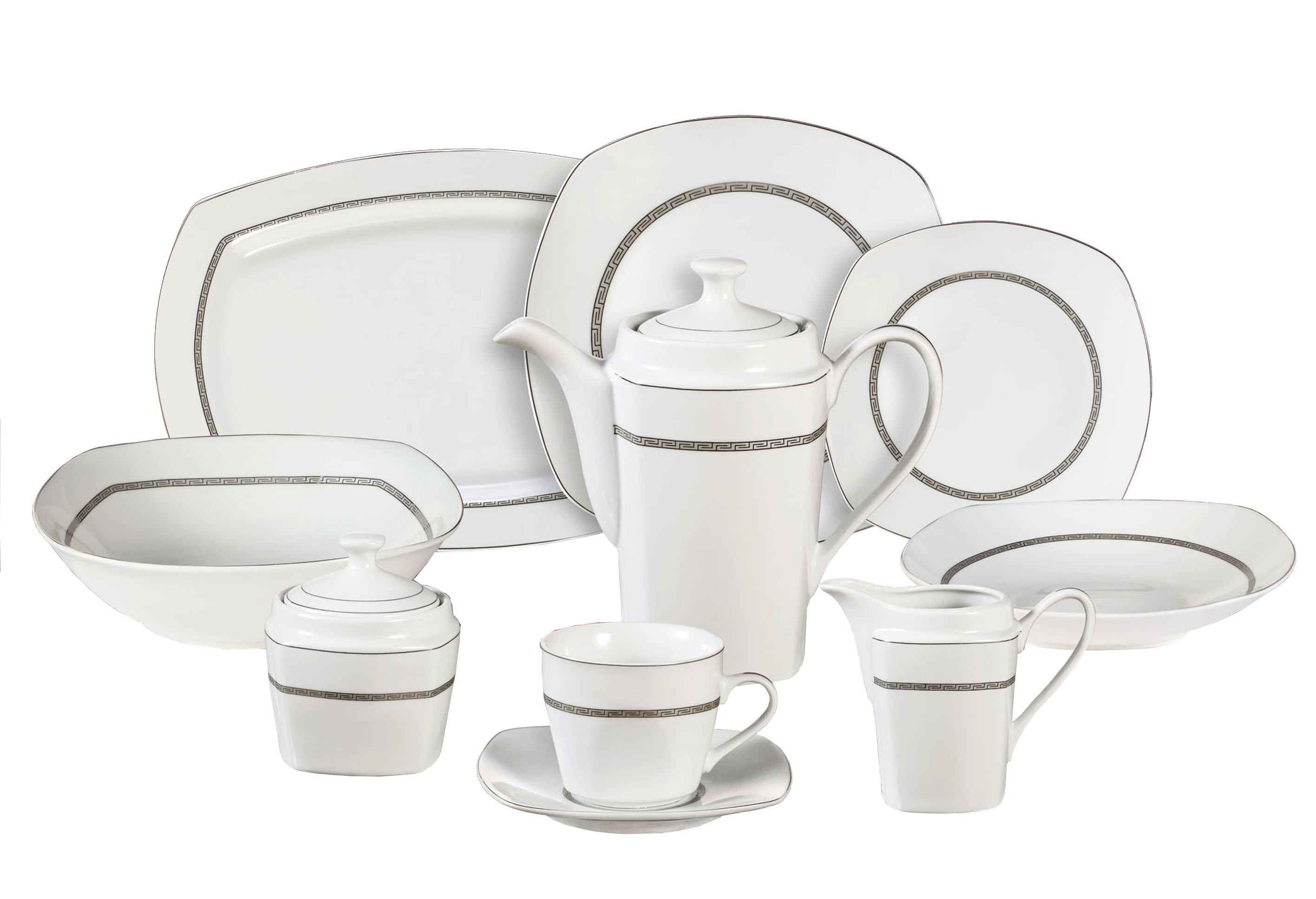 47 Piece Dinnerware