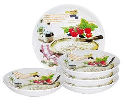 5 Piece Pasta Set Mamma Mia Design