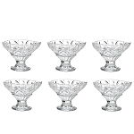Crystal Dessert Bowls Set of 6 Laura 5
