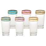 High Ball Set of 6 Melania Collection Multicolor