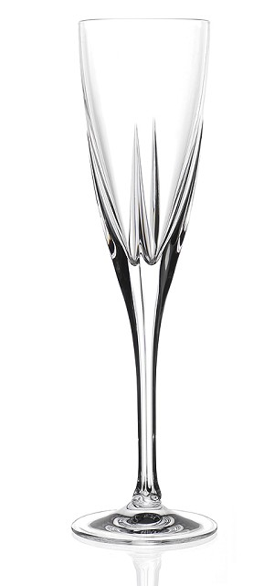 RCR Fusion Crystal Champagne Glass set of 6