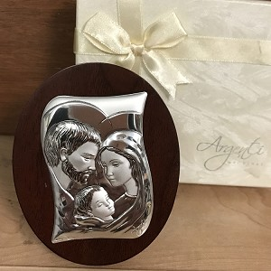 Silver Holy Family