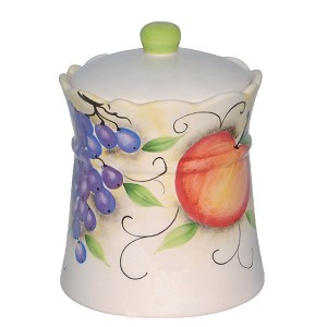 Fruit Design Cookie Jar