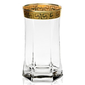 Set of 4 High Ball Tumbler from the Florence Collection by Lorren Home Trends