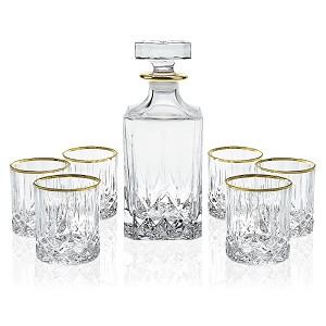RCR Opera-Gold 7 Picece Whiskey Set