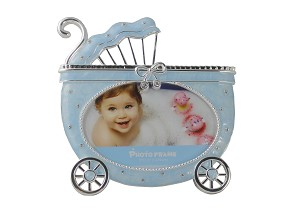 Pewter Blue Carriage Frame
