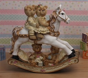 Teddy Bear Rocking Horse