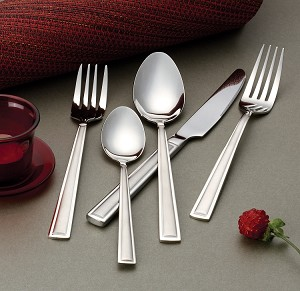 Lorren Home Trends 72 Piece Clara-SAT 18/10 Flawtare Set Service for 12