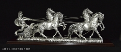 Roman Chariot With 4 Horses