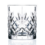 RCR Crystal Double Old fashioned Glass set of 6