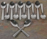 Espresso Spoons set of 12 Stainless Steel