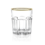 Provenza-Gold Old Fashion Set of 6 By Lorren Home Trends