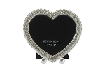 Pewter Heart Bling Frame