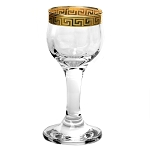 Set of 4 Liquor Goblets from the Florence Collection by Lorren Home Trends