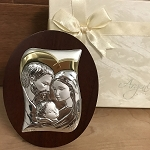 Silver and Gold Holy Family