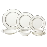 28 Piece Dinnerware Set-New Bone China Service for 4 People-Arianna