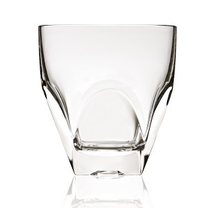 Diamonte Collection Double Old Fashion Drinking Glass By RCR Italy